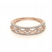10ct Rose Gold Diamond Ring