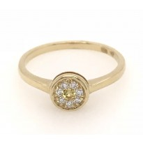 18ct Yellow Gold Gem Stone Ring