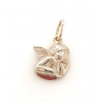9ct Rose gold Angel charm
