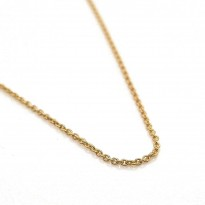 9ct Yellow Gold Belcher Link Chain