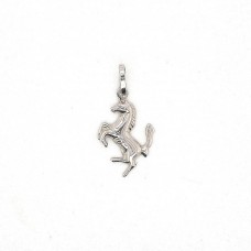 18ct White Gold Prancing Horse Charm