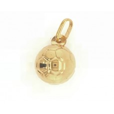 9ct Yellow Gold HOLLOW Soccer Ball