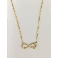 9ct Infinity Necklace