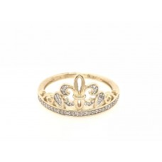 10ct Yellow Gold Crown Ring