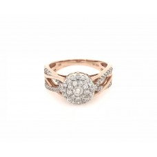 10ct Rose Gold Dress Ring
