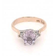 9ct Rose Gold and Gem Stone Ring