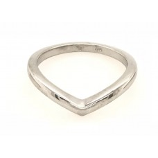 9ct White Gold Victory  Ring