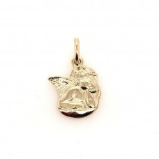 9ct Yellow gold Angel charm